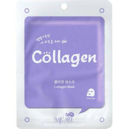Регенерирующая тканевая маска с коллагеном  MJ CARE Collagen Mask, фото 2