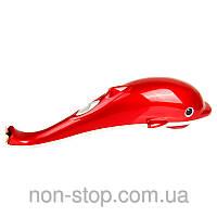 ТОП ВЫБОР! Ручной массажер Дельфин - 1000041 - массажер ручной, массажер дельфин, массажер с насадками, массажный дельфин, масажер