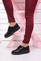 Женские туфли на низком ходу. Лакированные