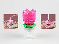Свечи на торт - Цветок