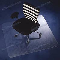 Ковер под кресло прозрачный 121х121см Германия для ковролина. Толщина 2,3мм, фото 1