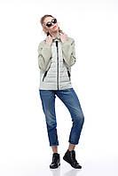 Светлая укороченная куртка - реглан больших размеров и маленьких 42-56, кашемир 100%