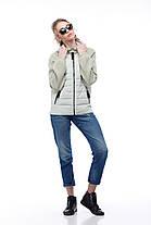 Куртка бомбер кашемир синяя больших размеров и маленьких 42-56, кашемир 100%, фото 3