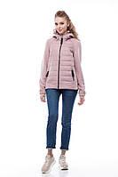 Куртка бомбер кашемир розовая больших размеров и маленьких 42-56, кашемир 100%
