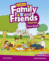 Family and Friends 2nd Edition Starter Class Book with Multi-ROM