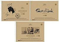 """Альбом для ескизов """"Prof-art"""" на спирали, А4, 50 листов, дизайн в ассортименте, """"Школярик"""""""