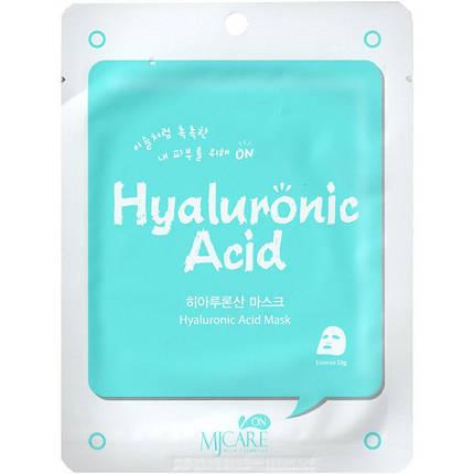 Тканевая маска с гиалуроновой кислотой  MJ Care Hyaluronic Acid Essence Mask, фото 2
