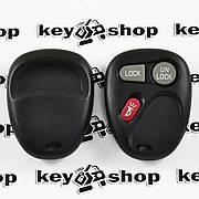 Оригинальный пульт для ДжиЭмСи (GMC), 2 + 1 (panica) кнопки, 315MHz, FCCID: KOBLEAR1XT