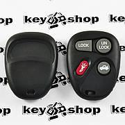 Оригинальный пульт для ДжиЭмСи (GMC), 3 + 1 (panica) кнопки, 315MHz, FCCID: KOBLEAR1XT