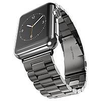 Браслет из нержавеющей стали для Apple Watch 38mm/ 42mm Black