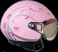 "Шлем Nexx X60 QUEEN pink/soft  ""XS"", арт. 01X6015037, фото 1"