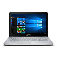 Ноутбук Asus Vivobook Pro N552 15.6'' 8/1000GB i7-6700HQ NVIDIA GeForce GTX 960M 4GB (N552VW-DS79) Серебряный