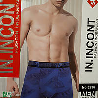 Мужские стрейчевие труси боксери INCONT.