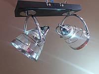 Люстра потолочная на 2 поворотных плафона 0660, фото 1