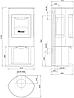 Отопительная печь Dovre Astro 3 CB WB 10 кВт, фото 2