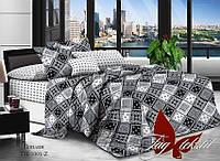 Комплект постельного белья поплин Тм Таg евро размер 5001