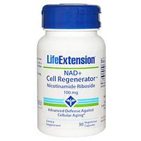 Никотинамид Рибозид 100 мг 30 капс защита отклеточного старения Life Extension USA