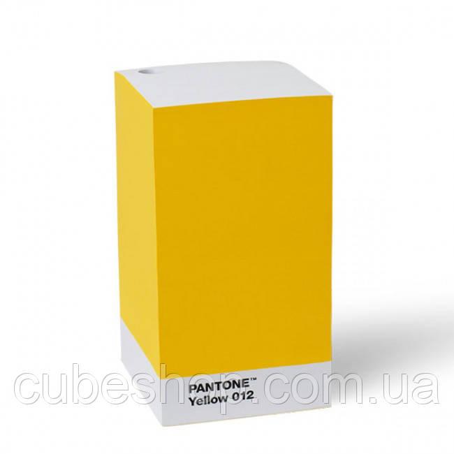 Блок для записей PANTONE Living Yellow 012