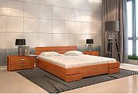 Кровать Дали сосна  Арбор Древ (деревянная с низким изголовьем)