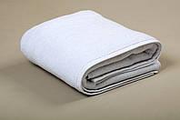 Полотенце махровое отельное белое 500 гр/м2 (20/2) 40*70