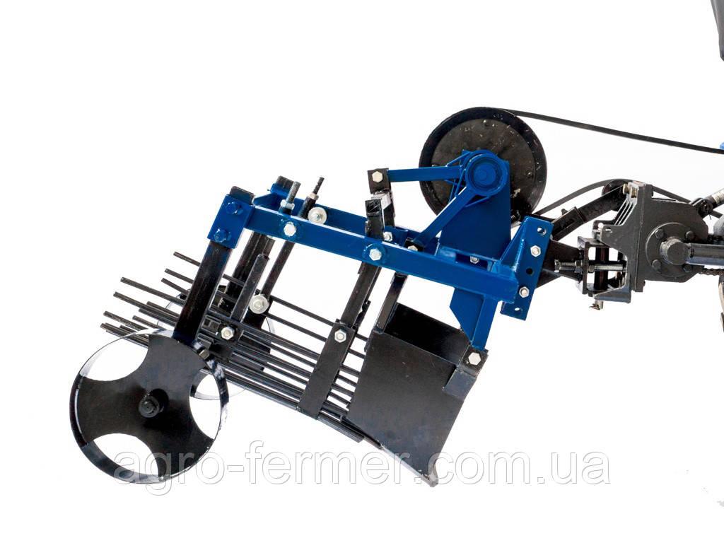 Картоплекопач вібраційний 2-х ексцентриковий під мототрактор з гідравлікою (Скаут)
