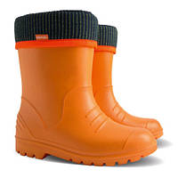 Резиновые сапоги для девочек DEMAR DINO оранжевый