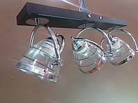 Люстра потолочная на 3 три поворотных плафона 0660