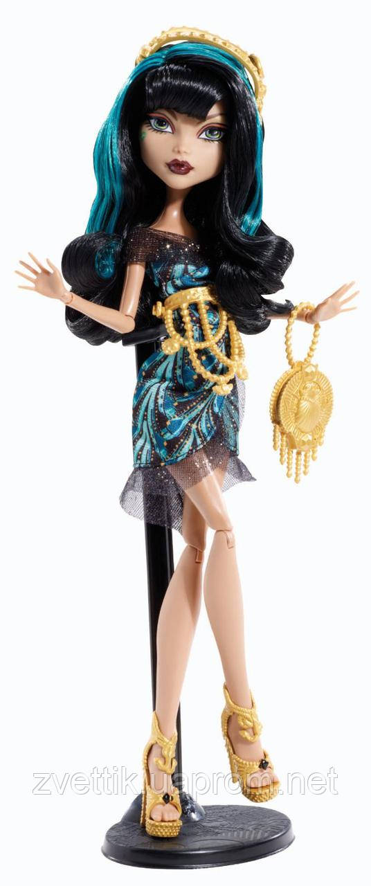 КуклаMonster High Cleo de Nile серии Frights, Camera, Action