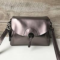 Кожаная классная женская сумка