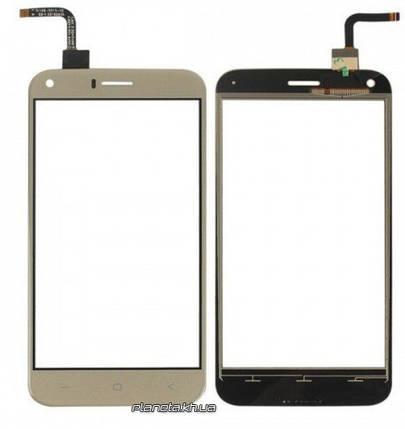 Сенсорный экран ( touchscreen ) для SONY D2302/D2305 Xperia M2 Dual Black, фото 2