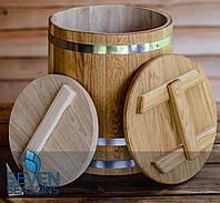 Кадка для соления конусная дубовая Seven Seasons™, 70 литров