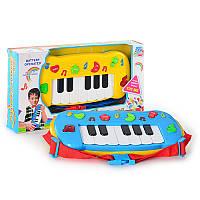 Музыкальная развивающая игрушка Пианино Знаний 60060, музыка, 2 цвета