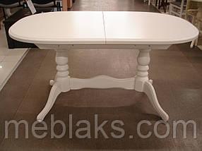 """Стол для гостинной деревянный раскладной """"Даниэль"""" 148(+40)x88x78,5 см Fusion Furniture, фото 3"""