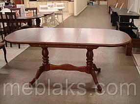 """Стол кухонный деревянный раскладной """"Даниэль"""" 148(+40)x88x78,5 см Fusion Furniture, фото 2"""