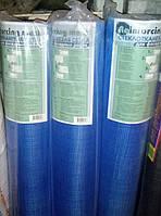 Сетка армирующая 5х5 мм 145 г/м 1х50 м Mesh синяя (рулон 50 м)