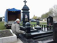 Установка памятников