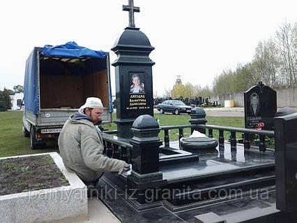 Памятники на кладбище цены двойной памятник на могилу ногинск
