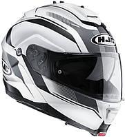 """Шлем HJC ISMAX II  ELEMENTS MC10 white/black """"L"""", арт. 115710, фото 1"""