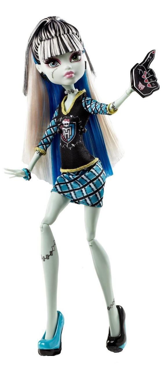 П, Кукла Monster High Фрэнки Штейн Frankie Stein из серии Ghoul Spirit Гул Cпирит
