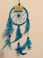 Ловец снов голубой, d-6 см