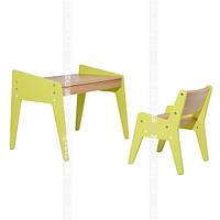 Детский стол и стулFunDesk Omino Green