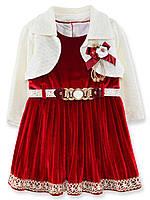 Платье с болеро Динара (98 (3) Красное)