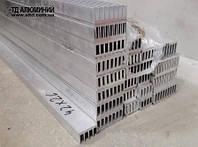 Поступление на склад алюминиевая труба квадратная и радиаторный профиль