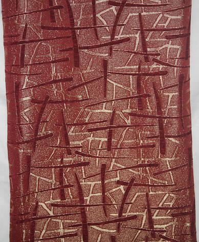 Комплект гобеленовых покрывал Супер Макс Брызги шампанского бордовый, фото 2