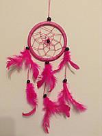 Ловец снов розовый, d-6 см