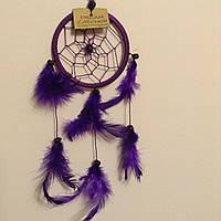 Ловець снів фіолетовий, d-6 см
