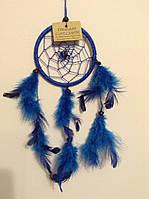 Ловець снів синій, d-6 см