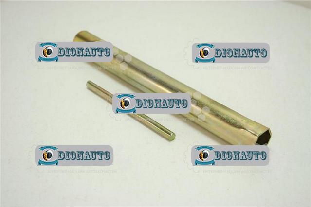 Ключ свечной 21мм 406 двигатель  (21мм)