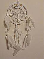 Ловець снів білий, d-12 см