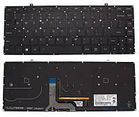 Клавиатура для ноутбука Lenovo (IdeaPad S41-70, U41-70) rus, black, без фрейма, подсветка клавиш
